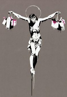 Bansky; this is one if my favourite paintings ever