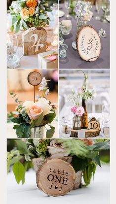 Many couples are choosing to get married in a casual setting, often outdoors or in a rustic venue.  Wood is the perfect medium to convey a rustic theme.  Add burlap to the mix and you've got rustic times two!  Take a look at our favorite wooden table numbers, many of which are simple to make for …