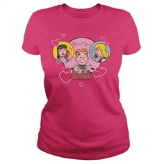 Archie Comics Two Is Better T Shirts, Hoodies, Sweatshirts - #girls #design tshirt. I WANT THIS => https://www.sunfrog.com/Geek-Tech/ARCHIE-COMICS--TWO-IS-BETTER-Hot-Pink-Ladies.html?60505