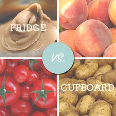 Fridge Vs. Cupboard
