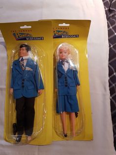 Very rare - Pontins Blue Coat Male and Female Dolls complete - unopened | 19.99+4.99
