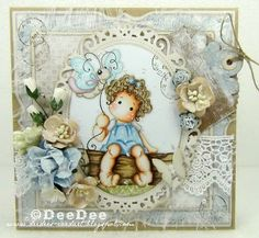 DeeDee´s Card Art: ♥ Copic Marker Europe Blog DT - Waiting for Spring ♥