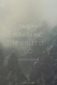 Love me harder~ Ariana Grande