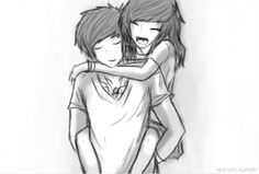 I love how drawings of a couple look way better than a pictures of couples :P