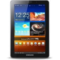 Samsung Galaxy Tab. I really miss her. No more Angry Birds for me.