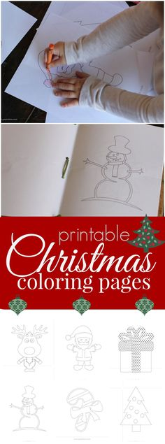 Free Coloring Sheets 12 Days of Christmas {instant download - best of easy coloring pages for christmas