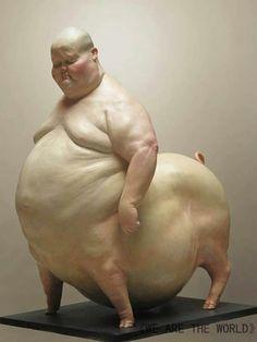 Escultura figurativa china
