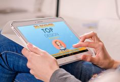 Laptop/iPad Photorealistic | by margaret_fiverr (https://www.fiverr.com/margaretrivera)