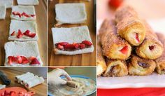 French Toast Rollups Recipe
