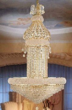 Magnificent Chandelier Online Shopping online shopping llfa7872 new lights maria theresa chandelier in gold finish k9 crystal living room bedroom Shop For Swarovski Crystal Trimmed French Empire Chandelier Lighting With 20 Lights Get Free Shipping At Your Online Home Decor Outlet Store