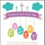 FREE Printable:  Christian Easter Story Egg Poem {Adapted for Preschool}