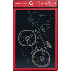 """Say goodbye to paper. The original Boogie Board 8.5 inch LCD tablet that started the revolution. Ultralight (4 oz.) and thin (1/8""""), the Boogie Board is easy to take anywhere. One just isn't enough. Get one for on the go and multiple places around the house. The Boogie Board tablet's pressure-sensitive LCD writing surface creates lines of different thickness based on how hard you push — just like pen and paper."""