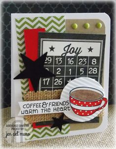 Reverse Confetti | Be a Barista [Friendship, Just Because, Thinking of You Card]