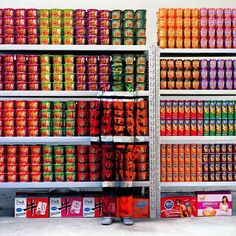 Galerie Paris-Beijing is proud to represent Liu Bolin, internationally known for his camouflage photo-performances series Hiding in the city Liu Bolin, Camouflage, Art Expo, Supermarket, Hidden Art, Hidden Images, Man Parts, Invisible Man, Consumerism