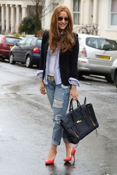 37 Street Style Obsession: Denim