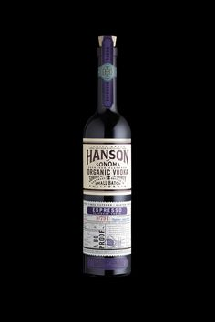 Hanson Vodka Packaging