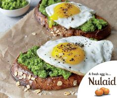 This pesto works with any hearty greens; try turnip greens, kale, or chard. Any extra pesto will keep refrigerated for 4 days and frozen for up to a month. View Recipe: Mustard Green Pesto and Egg Open-Faced Sandwiches Egg Recipes For Dinner, Easy Egg Recipes, Diet Recipes, Cooking Recipes, Healthy Recipes, Breakfast Recipes, Breakfast Ideas, Dinner Ideas, Recipies