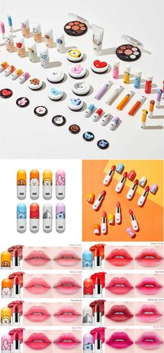 x VT Lippie Stick - Moisturising lipsticks with eight colors to choose from! Only on Harumio, Korea delivered to You. Korean Makeup Look, Asian Makeup, Bts Doll, Bts Makeup, Bts Merch, Lip Tint, I Love Bts, Lip Care, Bts Bangtan Boy