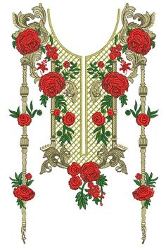 Embroidery Designs Shop-buy and sell embroidery design Embroidery Neck Designs, Embroidery Suits, Embroidery Patterns, Eid Crafts, Ramadan Crafts, Textile Prints, Textile Design, Neckline Designs, Flower Art