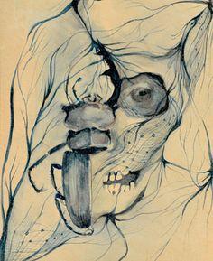 "Saatchi Online Artist Boicu Marinela; Painting, ""disintegrating"" #art"