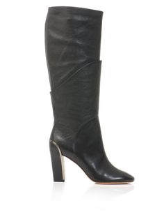 Diane Von Furstenberg Shoes | Diane Von Furstenberg Grace Boots in Black - Lyst FIERCE