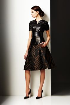 Pamella Roland Pre-Fall 2014 Fashion Show