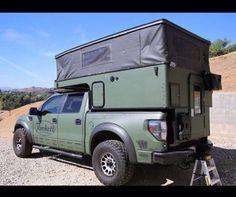 Raptor camper