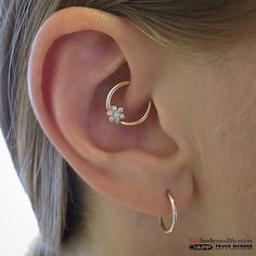 Daith jewelry.                                                                                                                                                                                 More