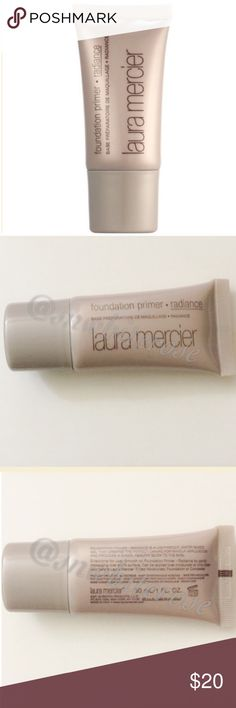 {Laura Mercier} Radiance Foundation Primer {Laura Mercier} Radiance Foundation Primer. 1 fl. oz. New without box. Prime your skin and add a healthy glow in one step! Sephora Accessories