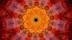 Mandala aus einer klitzeleinen Malerei gemacht.