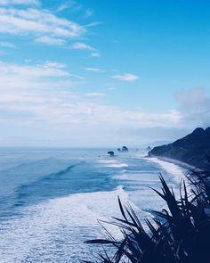 The west coast  #westcoastnz #oceanlover #newzealand #greymouth #travel