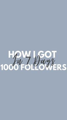 katrinalebar on Instagram: 1000 Followers in 7 Days! 💥 Here's how I did it👇🏼 1️⃣ I posted 4-5 reels every week for about 3 months, consistency is key if you want… Consistency Is Key, 1000 Followers, 3 Months, Business Tips, Audio, The Originals, Day, Instagram