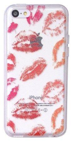 Coque souple Kiss pour iPhone 5C - Coques en Folie