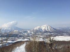 ルスツリゾートスキー場 (Rusutsu Resort ski area) in 留寿都村, 北海道