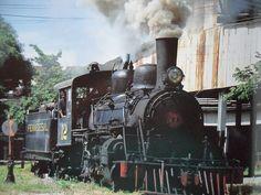 Fotos de locomotoras antiguas en El Salvador | Guía turística. Decameron El…