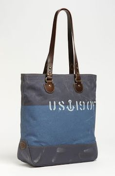 Fossil 'Vintage Archive' Canvas Tote available at Derby, Jeans, Nordstrom, Chanel, Blazer, Fossil Purses, Tote Bag, Zip, Archive