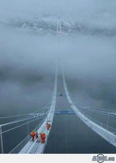 The #Norway Sky Bridge