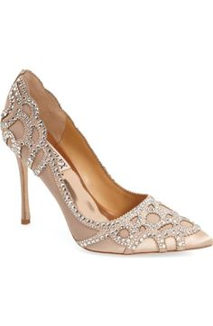 BadgleyMischka'Rouge' Pointy Toe Pump (Women) available at #Nordstrom