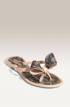 Valentino Couture Bow Thong Sandal | Nordstrom