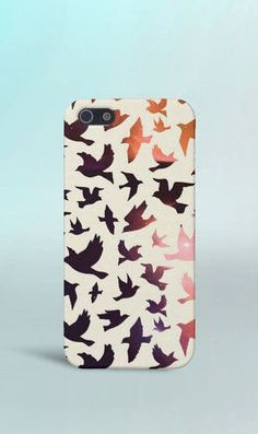 Galaxy x Birds Case for iPhone 6 6 Plus iPhone 5 5s 5c 4 4s Samsung Galaxy s6 s5 s4 & s3 and Note 5 4 3 2