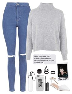 """Ghost//Halsey"" by thelonelyheartsclub ❤ liked on Polyvore featuring Topshop, Best Society, Eva Solo, Casetify, Charlotte Russe, NARS Cosmetics and Polaroid"