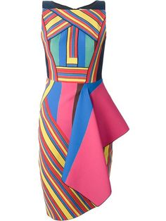 Shop Peter Pilotto 'Hendrix' dress in Bernard from the world's best independent boutiques at farfetch.com. Over 1500 brands from 300 boutiques in one website.