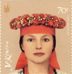 Блок марок 'Українські головні убори', 2007