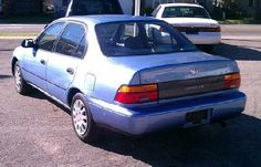 Never really loved this 1995 Toyota Corolla and only had it for two years, but the price was right.