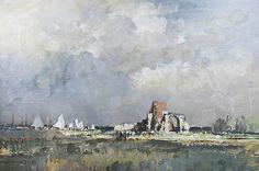 St. Benet's Abbey, Norfolk. Edward Seago