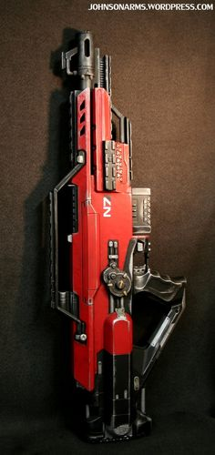 Mass Effect-themed Nerf Stampede by Brian Johnson (Johnson Arms)