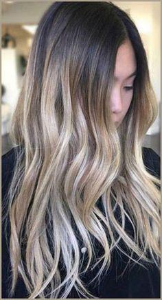 Ombre Hair Extensions, Balayage Hair Extensions, Wedding Hair, Clip in, Dark Brown Hair, Blonde Hair, Thick Hair, Mermaid Hair, Human Hair #ad