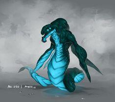 Monster No. 050 by Onehundred-Monsters on deviantART - monster sci-fi concept art