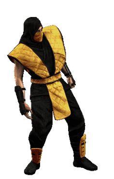 AKI GIFS: Gifs animados Scorpion (Mortal Kombat)