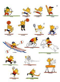 Cobi mascota de los juegos olimpicos 1992